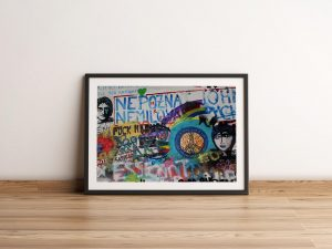 Life Is Short, War Is Long  John Lennon Muur Print