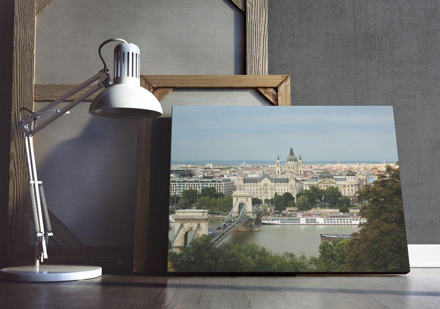 Boedapest Kettingbrug - Architectuur Poster en Print