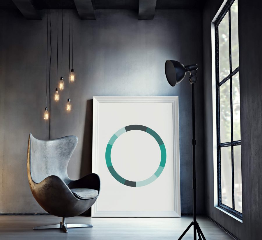 Monochromatic Series Posters - Green