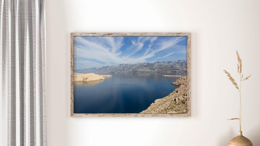 kroatisch landschap Poster en Print