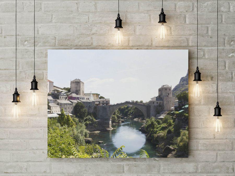 Stari Most Mostar op canvas