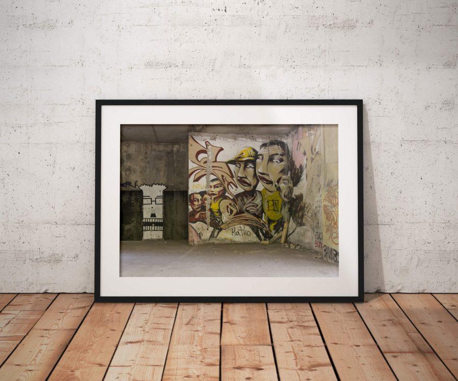 Sniper Tower Street Art - Poster
