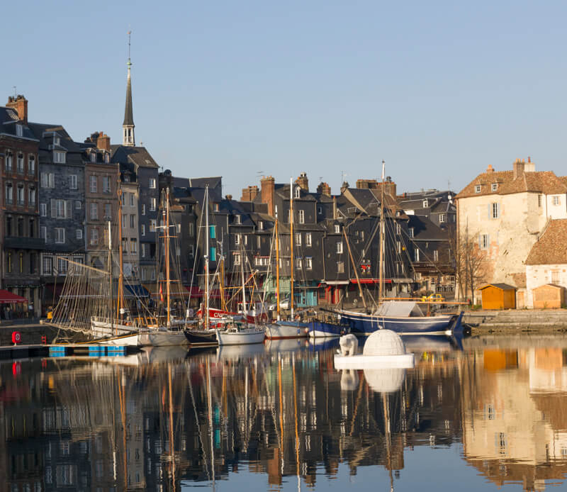 De haven van Honfleur