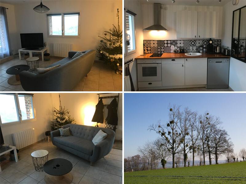 Ons appartementje in Normandie en de omgeving