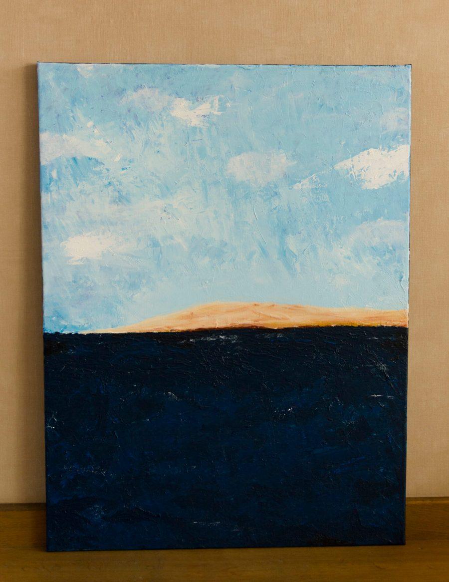 Zeezicht Abstract Schilderij