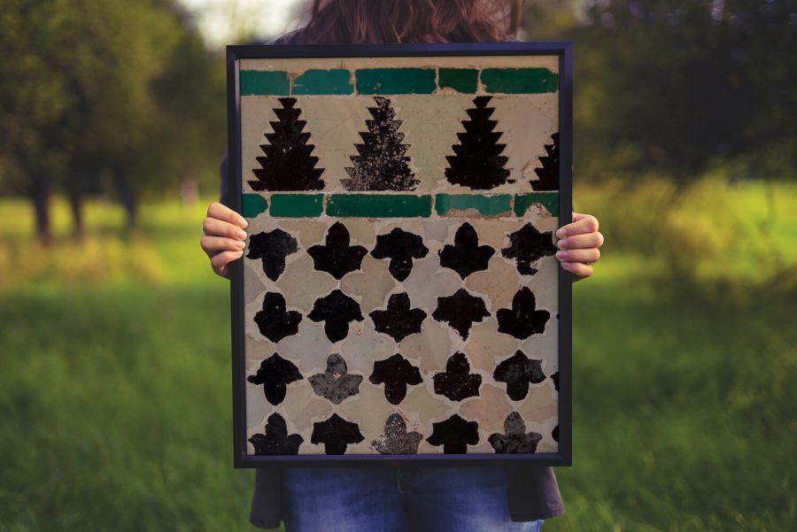 Geometrisch Patroon Poster - Abstracte Wanddecoratie