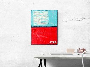 Mixed Media Abstract Schilderij - Moderne Kunst Online Kopen