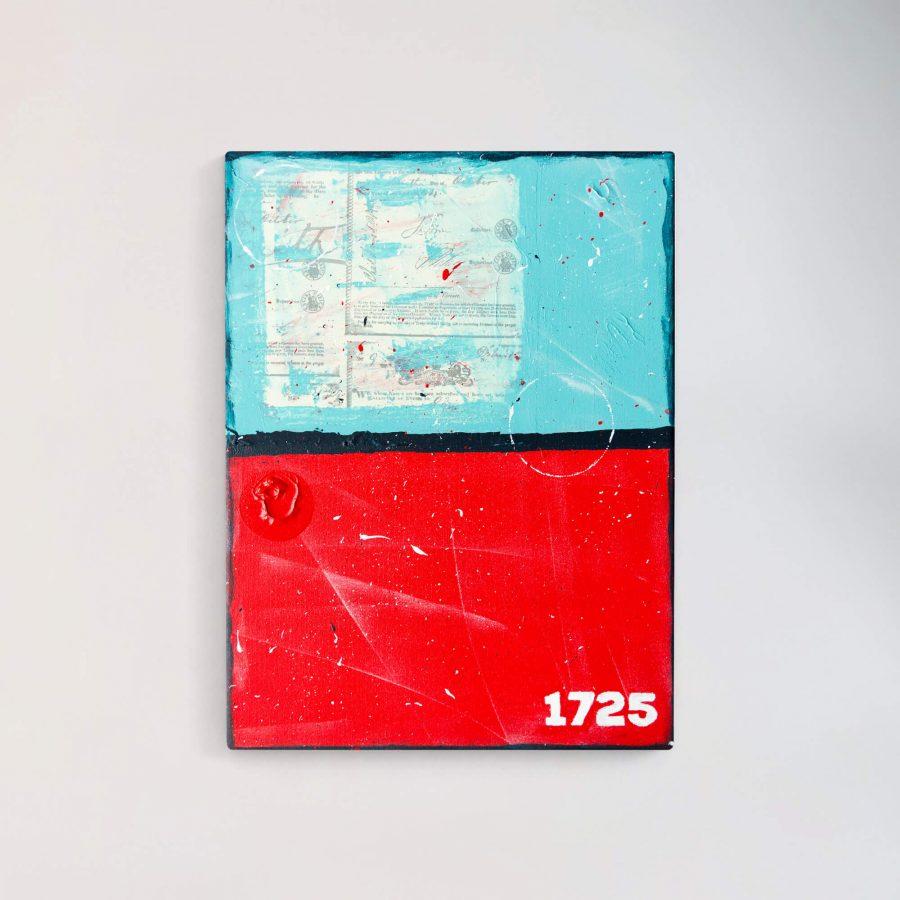 Mixed Media Schilderij - Moderne Kunst Online Kopen