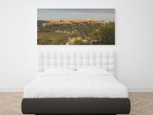 Panaroma Orvieto Poster - Architectuur Wanddecoratie