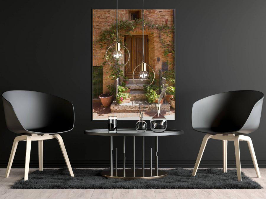 Toscaanse Deur Poster - Italie Wanddecoratie