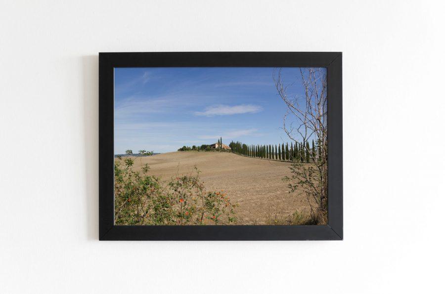 Toscane landschapsfotografie wanddecoratie online kopen