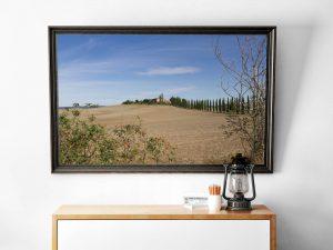 toscaans landschap foto wanddecoratie