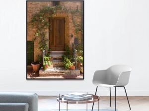 Mooie Toscaanse Deur Poster - Wanddecoratie online kopen