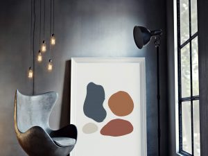Abstract Geometric Shapes - geometrische poster in Scandinavische stijl