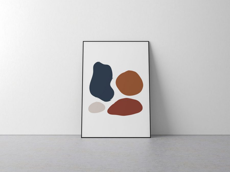 Abstract Shapes - Abstracte en geometrische posters kopen - Scandinavische wanddecoratie