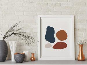 Abstracte en geometrische posters kopen