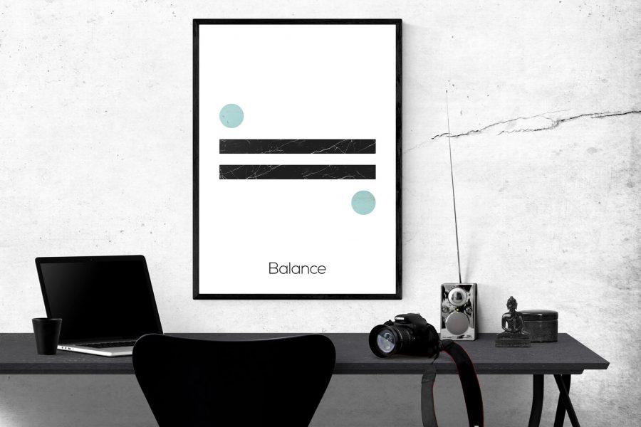 Balance - Noordse Wanddecoratie