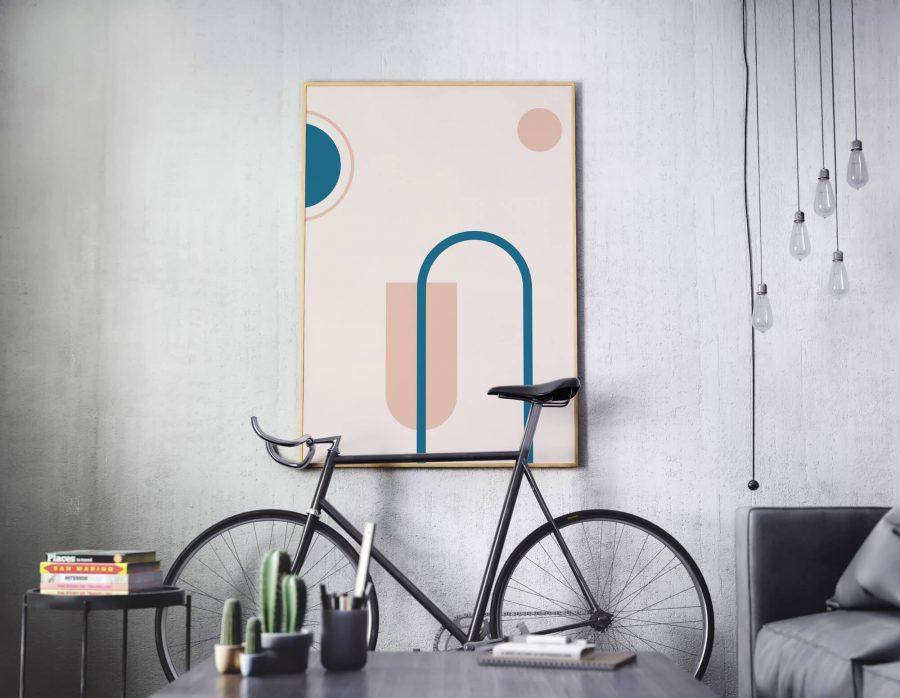 Geometrische Poster - Abstracte Wanddecoratie