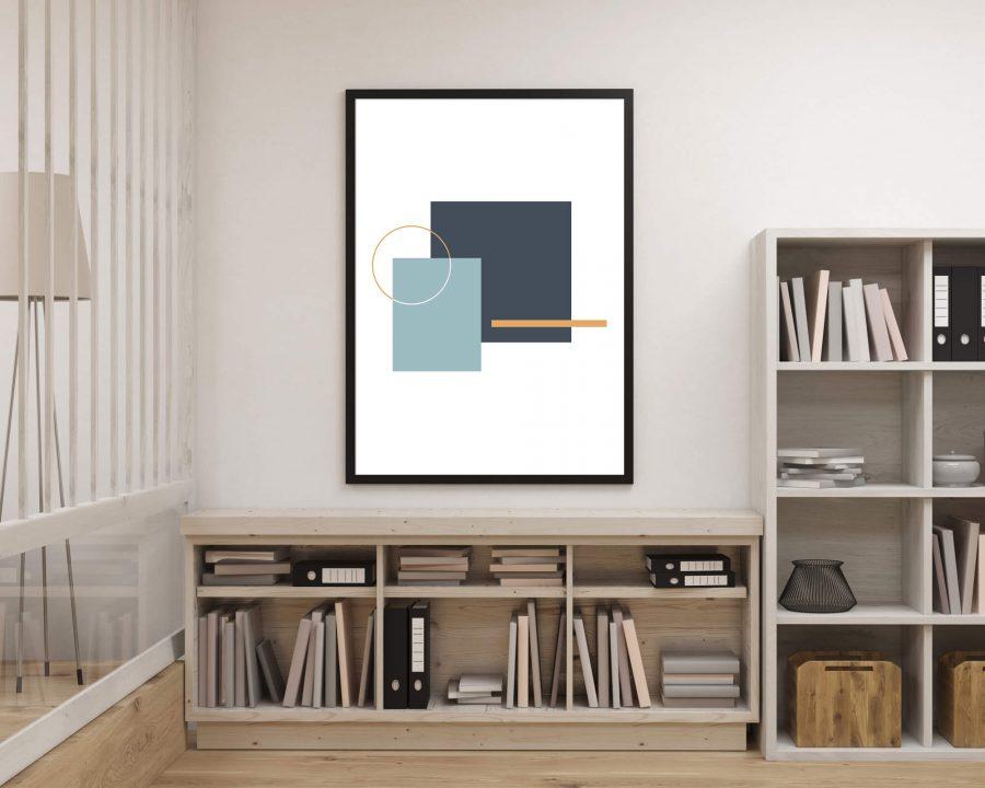 Minimalistische Geometrische Poster - Abstracte Wanddecoratie
