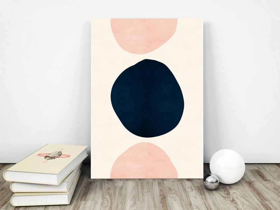 Abstracte Vormen Poster - Abstracte Wanddecoratie