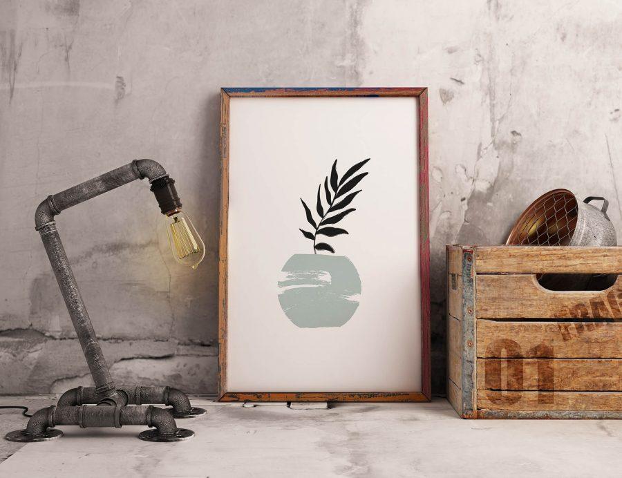 Potted Plant Botanische Poster