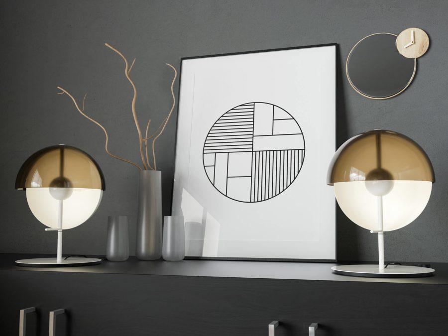 Scandinavische Poster - Minimalistische Wanddecoratie