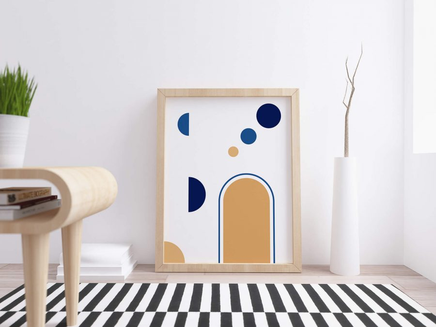 Kleurrijke Geometrische Poster