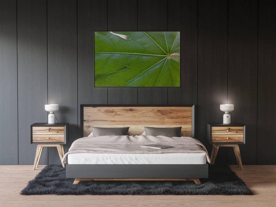 Botanische poster met groen blad - Natuur Wanddecoratie
