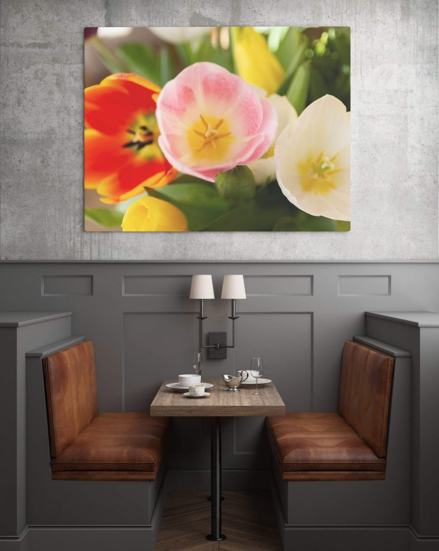 Tulpen poster - Natuur wanddecoratie
