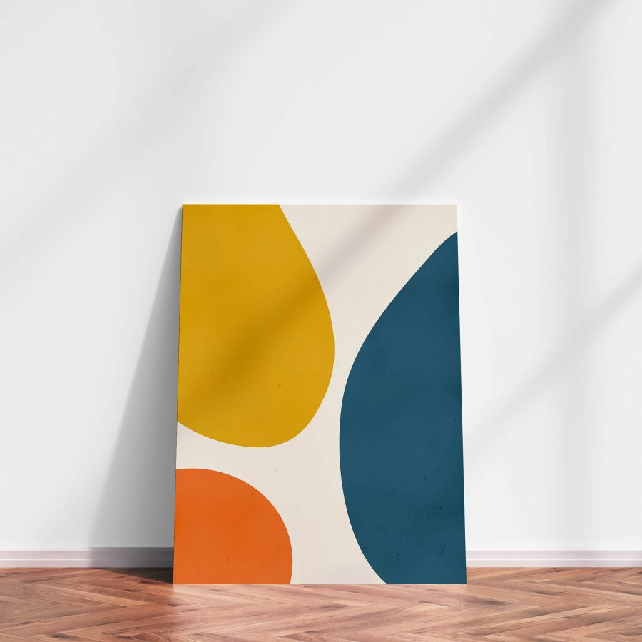 Minimalistische Abstracte Vormen Poster
