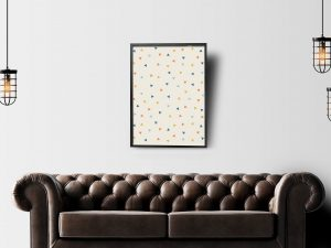 Triangle Pattern - Abstracte Poster