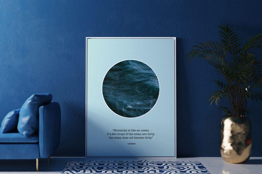Minimalistische Poster