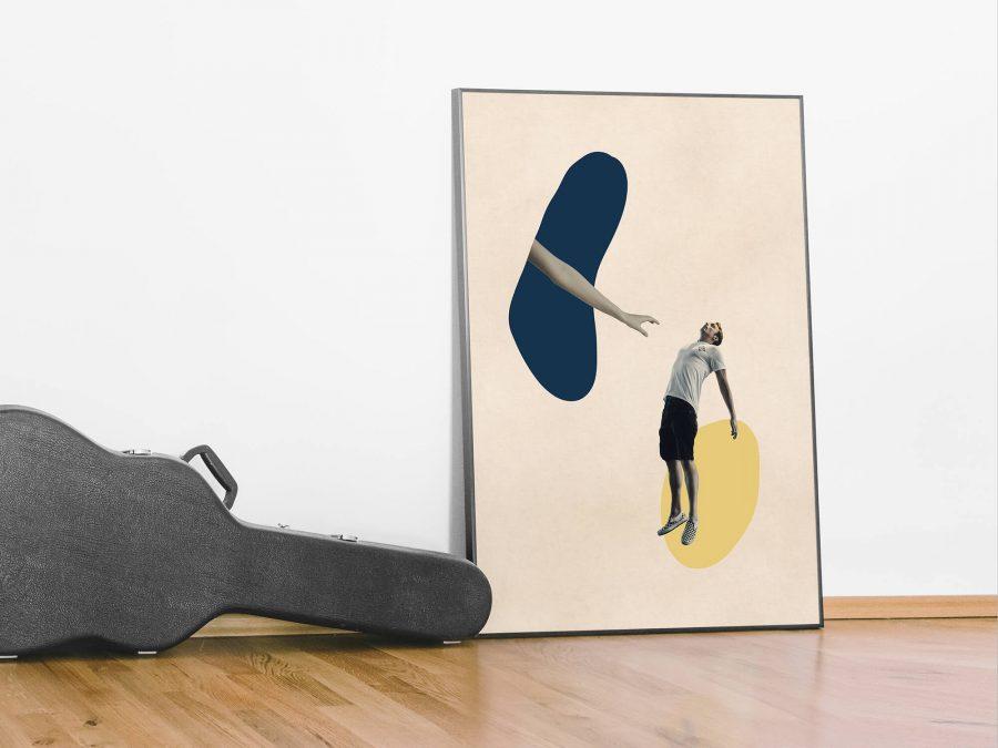 Surrealistische Abstracte Poster - Kom Hier