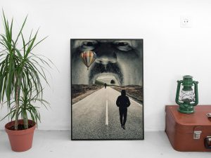 Surrealistische Poster - Road To Somewhere - Surrealisme