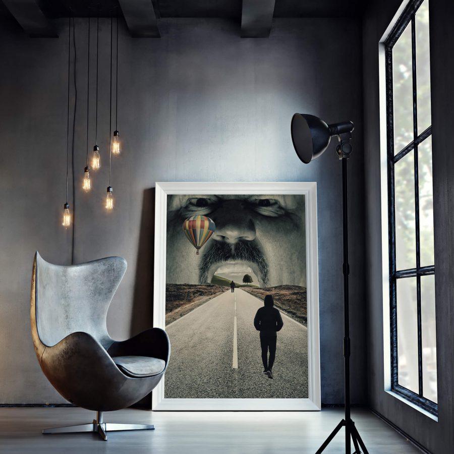 Surrealistische Poster - Surrealisme Kunst