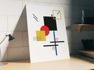 Geometrie Poster en Print