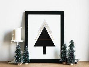 Scandinavische Kerst Wanddecoratie